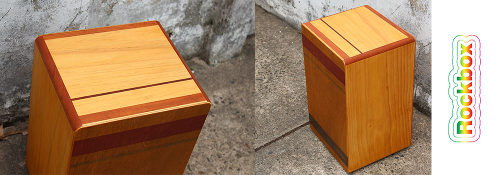 red cedar rockbox cajon french polish